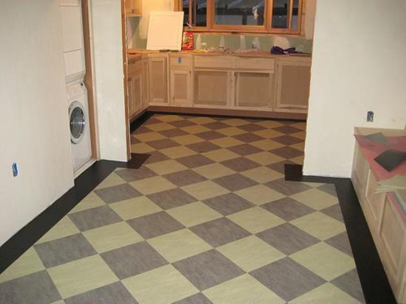 Best tiles for kitchen floor interior designing ideas for Kitchen linoleum tiles