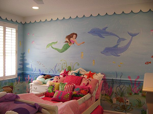 Mermaid Theme D 233 Cor For Kids Interior Designing Ideas