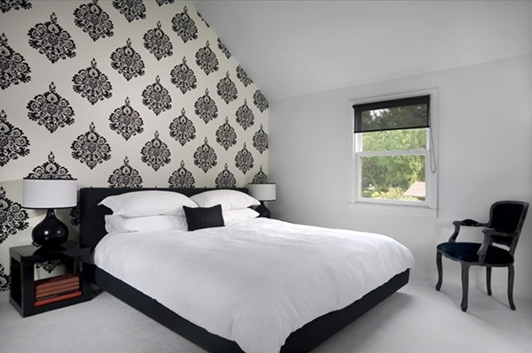 White bedroom ideas interior designing ideas Black and white room designs