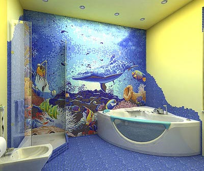 Sea bathroom