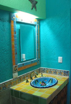 Sea bathroom d cor interior designing ideas for Sea bathroom ideas