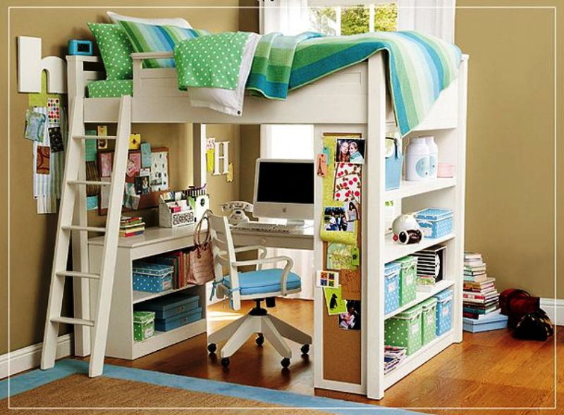 Inspiring Sweet Loft Bed For Girls Bedroom