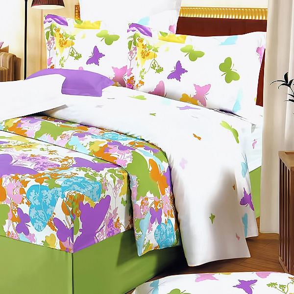green-purple-butterflies-100-cotton-3pc-duvet-cover-set