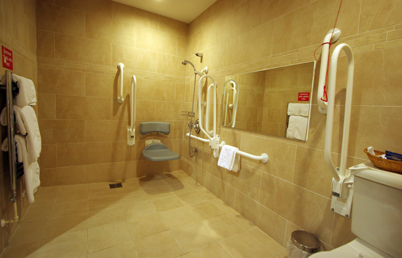 How to design your home interior designing ideas - Disabled shower room ...