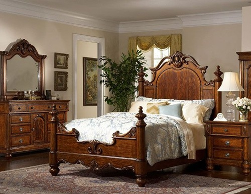 Victorian themed bedroom interior designing ideas for Victorian style master bedroom