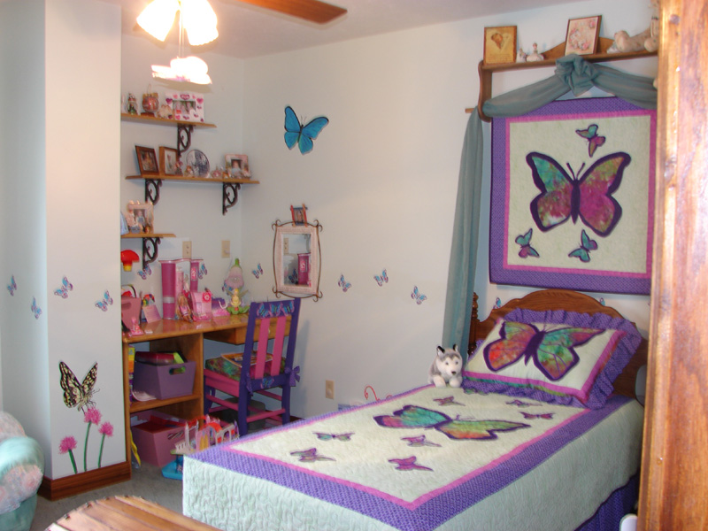 Butterfly Themed Bedroom Interior Designing Ideas