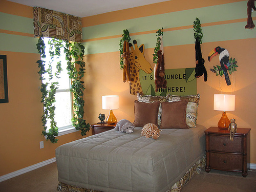 How To Decorate Safari Themed Bedroom Interior Designing