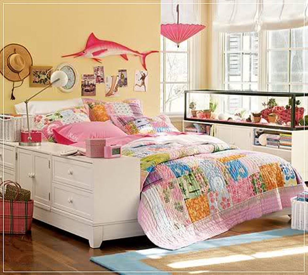 Teen bedroom decor interior designing ideas for Bedroom for girl interior design