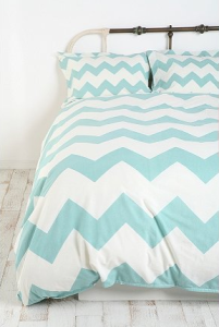 chevron bedding sfair blogspot