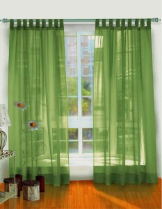 classic-green-curtains-and-decoration