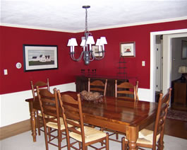 Red Dining Room Is It Worth Interior Designing Ideas