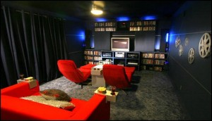 modern style home theater room-decorating ideas home cinema fun rooms