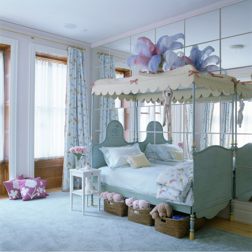 How to decorate blue bedroom for girls interior Blue bedroom