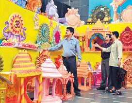 Ganpati_Decoration_Ideas_Pandals_Thermocol