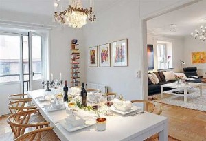 Dining-table-at-Contemporary-Scandinavian-Style