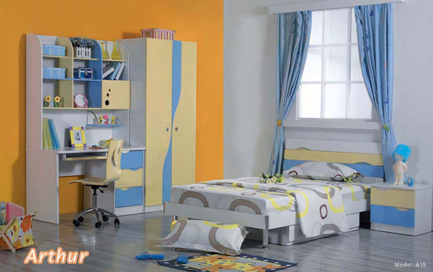 How to design a kids bedroom interior designing ideas for Bedroom ideas boys