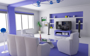 Lavender-Living-Room