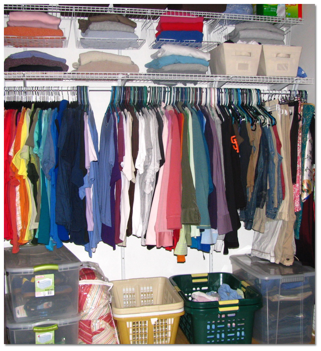 how to organize bedroom closet interior designing ideas
