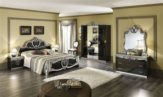 How to decorate a baroque style bedroom interior designing ideas - Deco baroque moderne ...