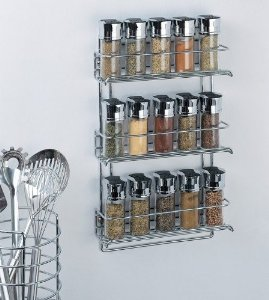 Organize It All Chrome Rack