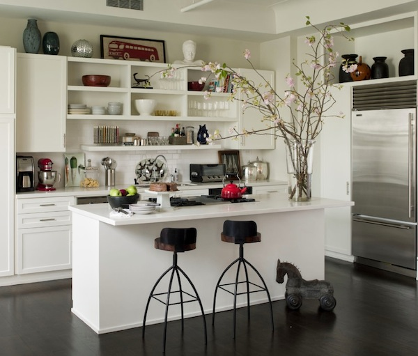 Kitchen With Open Cabinets: Storage Solutions For The Kitchen