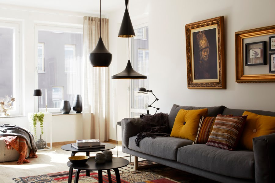 how to use lamps in the living room interior designing