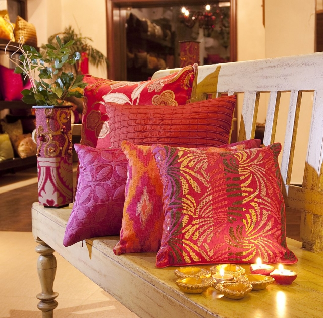 How to decor your home for diwali interior designing for Home decorations ideas for diwali