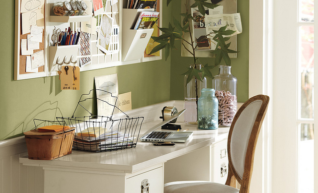 how to make home office more productive interior