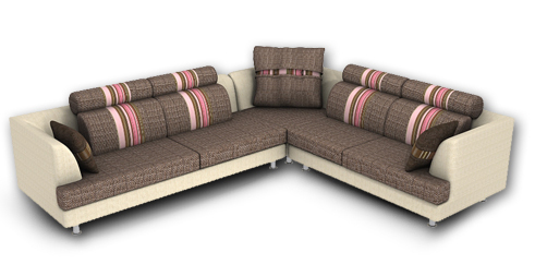 L-Shaped-Sofa-Set