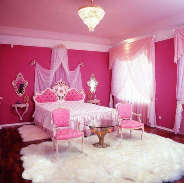 How to decorate different kind of bedroom interior for Room design ideas pink