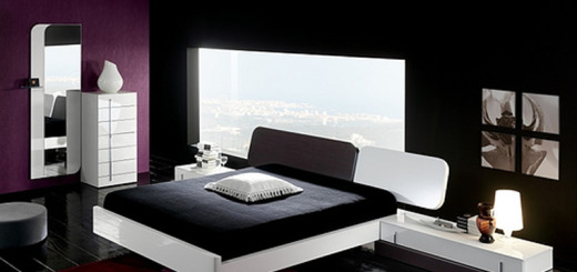 dark-and-bright-bedroom-color-theme-is-take-violet-black-also-white