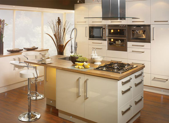 Island KitchenThe modern approach Interior Designing Ideas