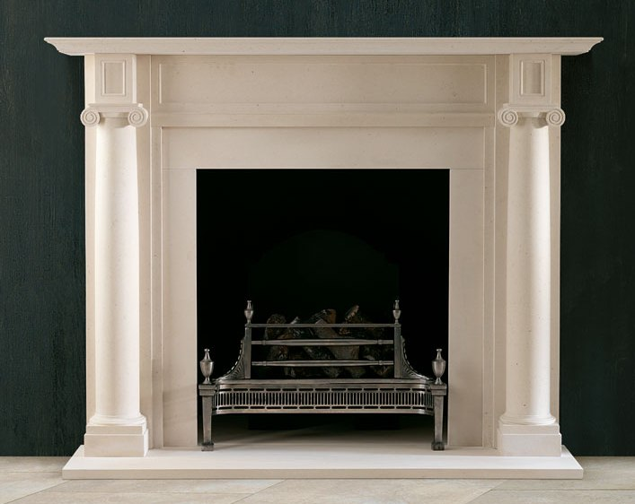Marble-Statued-Carved-Fireplace-Granite-Stove-Fire-Surround-