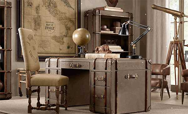 home-office-decor-vintage-style-27