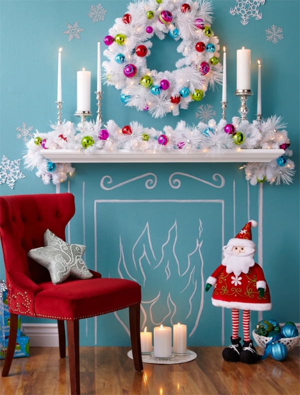 Checklist for christmas decoration interior designing ideas for Christmas home decorations pictures