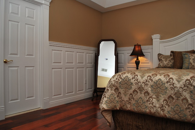 How to paint wainscoting bedroom interior designing ideas Images of wainscoting in bedrooms