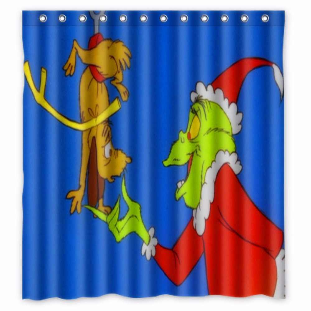 66-x72-inch-How-the-grinch-stole-font-b-Christmas-b-font-font-b-Shower-b