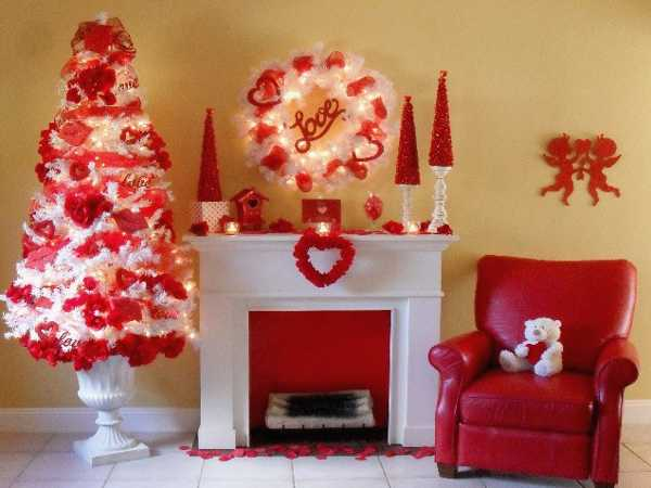 How to decorate home for valentine day interior for B day decoration ideas