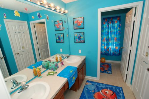 Beautiful Kid Bathroom Decorating Ideas 10