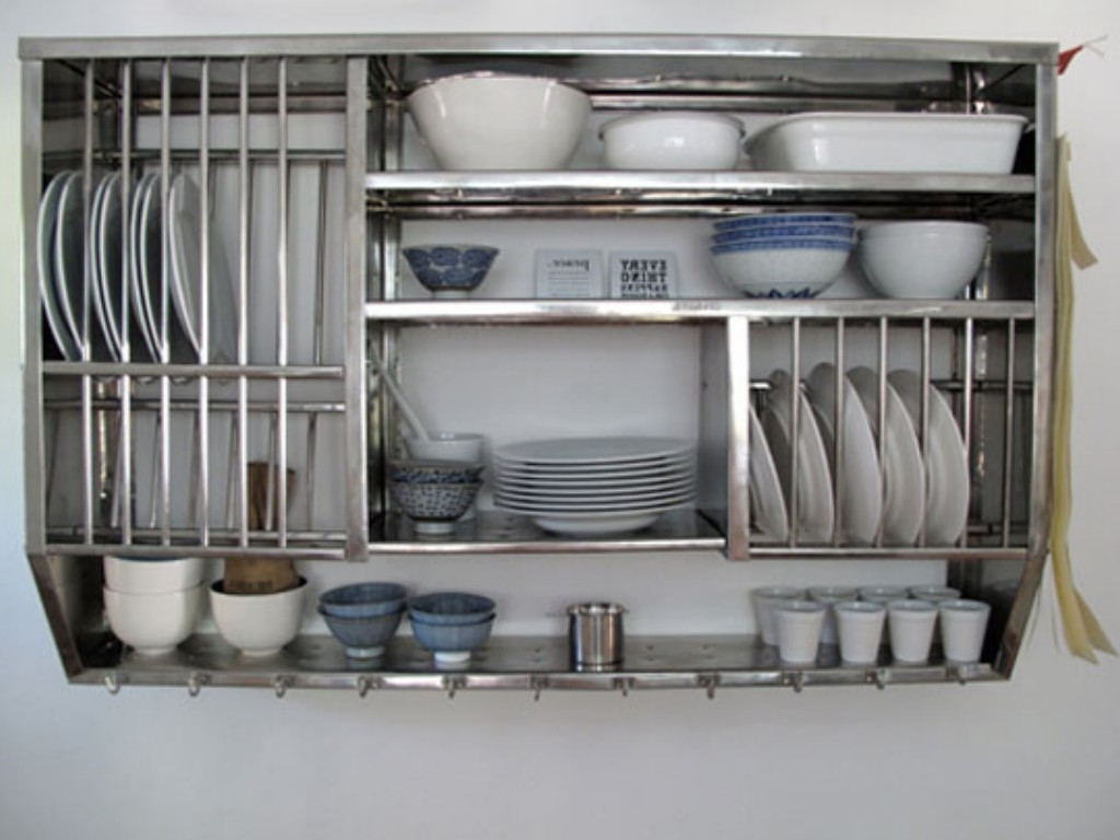Metal kitchen shelves bathub home interior decor and for Metal kitchen cabinets