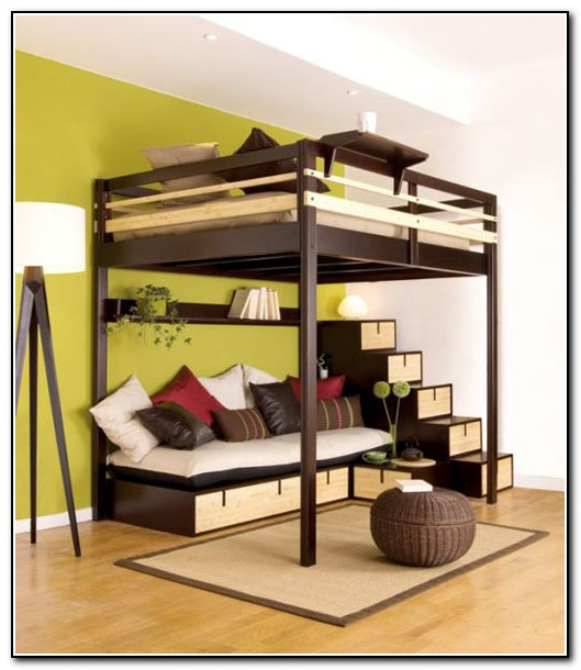 Loft Beds For Adults With Desk Images