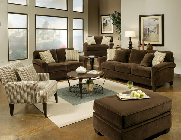 How to decorate a brown sofa interior designing ideas for Brown couch decorating ideas