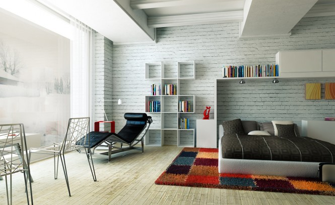modern, colorful bedrooms – interior designing ideas