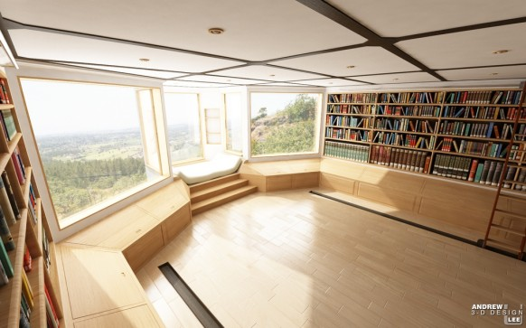 Really Deco Home Library Design! – Interior Designing Ideas