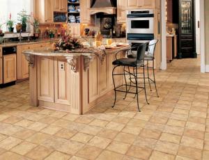 Linoleum Tile Flooring