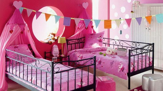 Twin Kids Bedroom Design Ideas Interior Designing Ideas