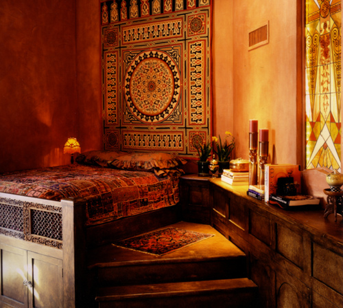 Moroccan Themed Interior Décor