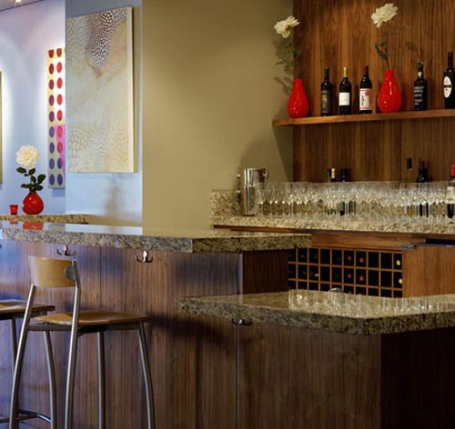 Mini Bars To Entertain The Guests Interior Designing Ideas