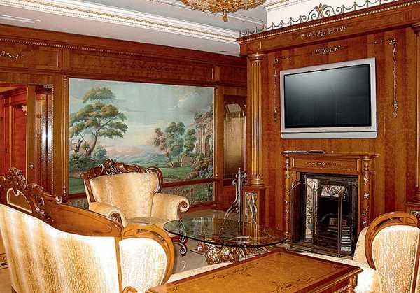 Brown home decorating ideas interior designing ideas - Decoration italien classic ...