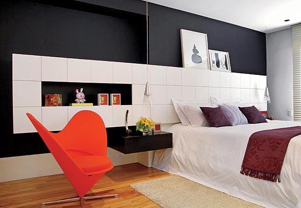 Black and White Bedroom Designs | Interior Design Blogs
